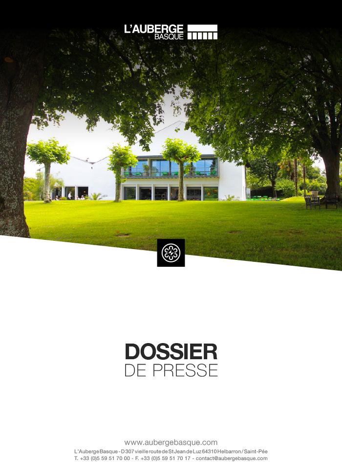 Dossier de presse l'Auberge Basque