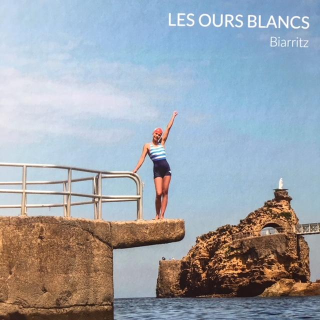 #lesoursblancs #biarritz #baignade #ocean #baindemer